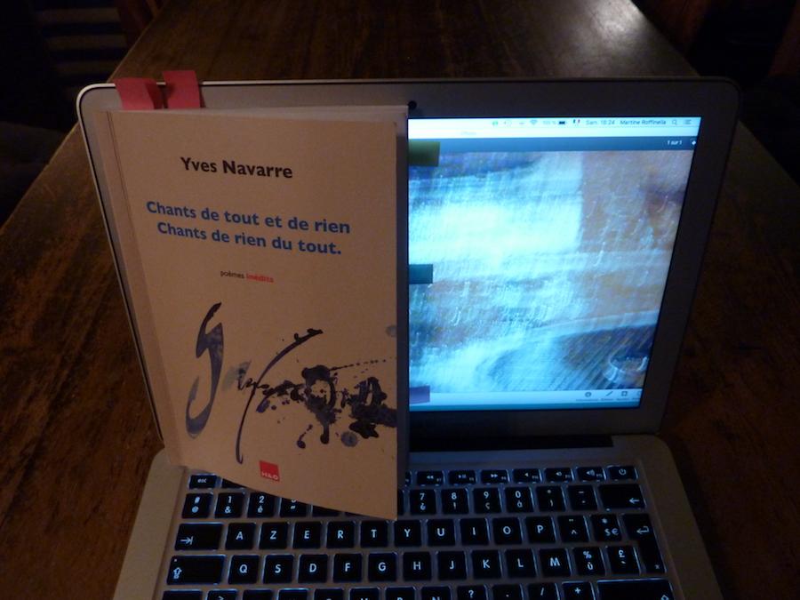 Poèmes d'Yves Navarre : chants matriciels de « toute l'œuvre à venir »