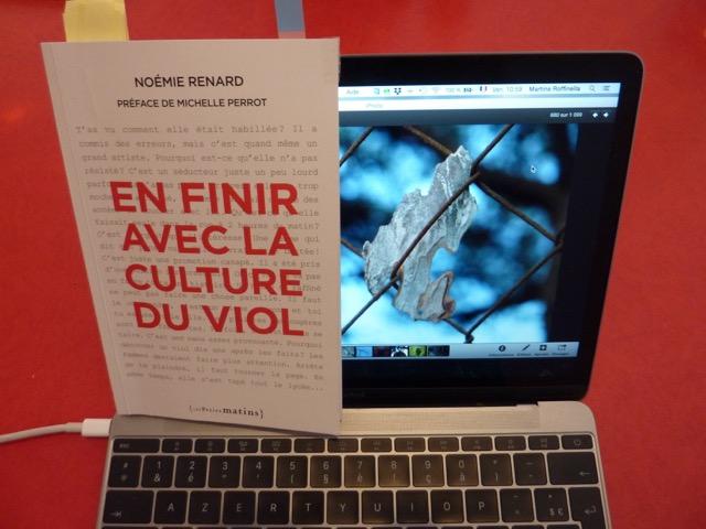 Noémie Renard veut « En finir avec la culture duviol»