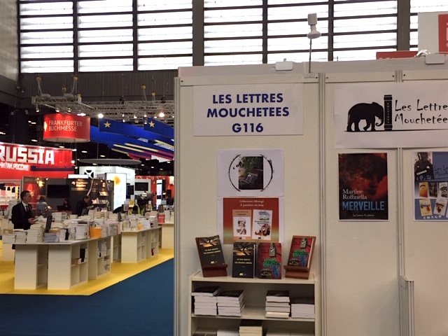 Apparition virtuelle… au Salon du livre !