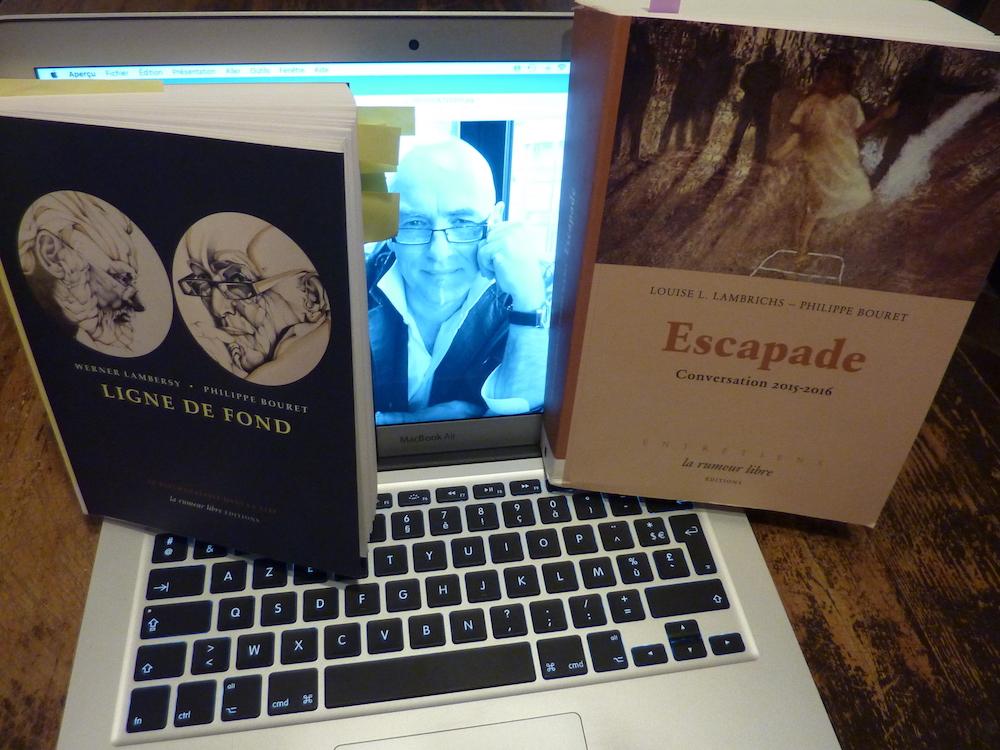 Le psychanalyste et auteur Philippe Bouret « rejoint l'ombre pour encrer les bords du vide et mettre le navire à l'ancre »